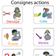 Consignes actions